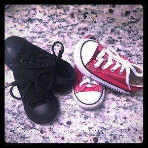 Size 6 Toddler Converse